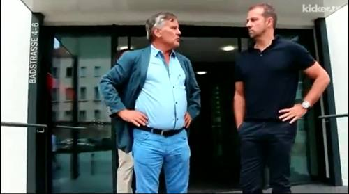 Hansi Flick - kicker interview 1