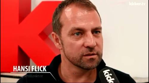 Hansi Flick - kicker interview 4