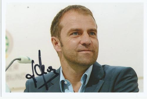 Hansi Flick - signed photo