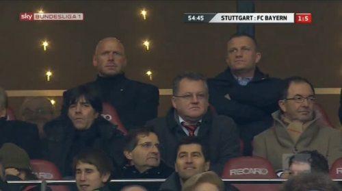 Joachim Löw at VfB Stuttgart v Bayern München - 2010-11 2