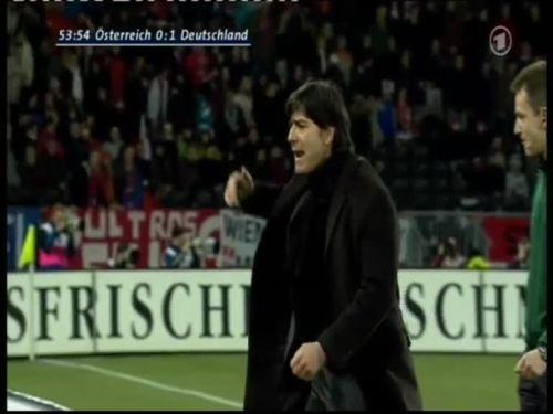 Joachim Löw – Austria v Germany 17