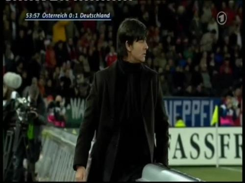 Joachim Löw – Austria v Germany 19