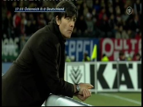 Joachim Löw – Austria v Germany 2