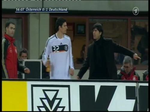 Joachim Löw – Austria v Germany 23