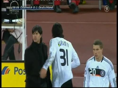 Joachim Löw – Austria v Germany 27