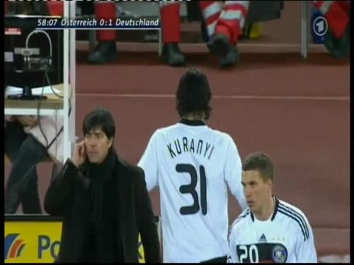 Joachim Löw – Austria v Germany 28