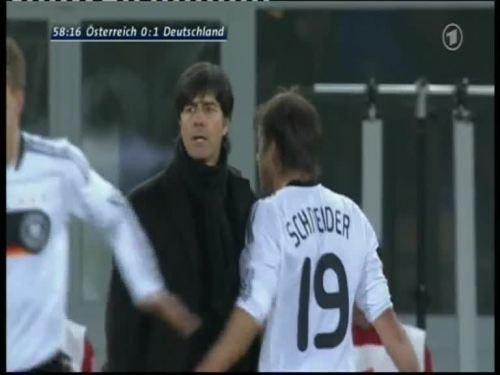 Joachim Löw – Austria v Germany 30