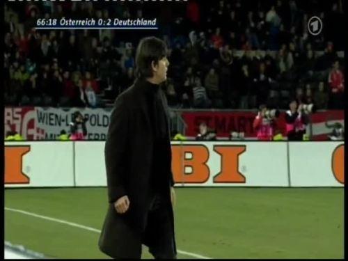 Joachim Löw – Austria v Germany 31
