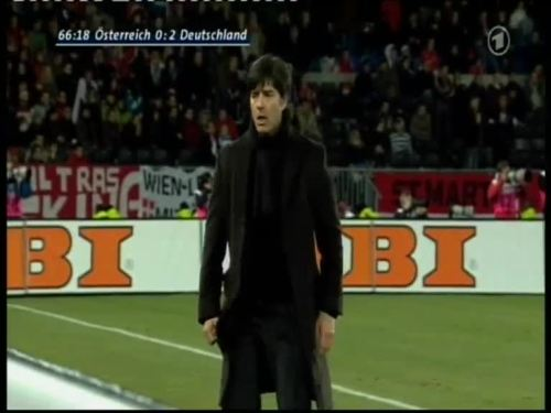 Joachim Löw – Austria v Germany 33