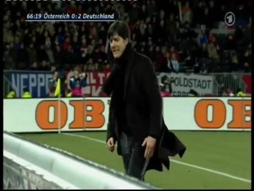 Joachim Löw – Austria v Germany 34
