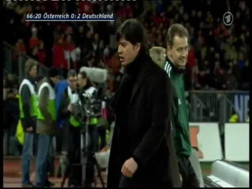 Joachim Löw – Austria v Germany 36