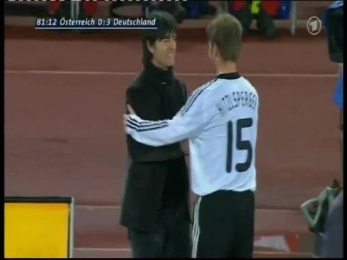 Joachim Löw – Austria v Germany 40