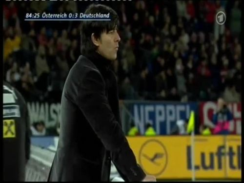 Joachim Löw – Austria v Germany 43