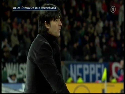 Joachim Löw – Austria v Germany 44