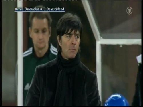 Joachim Löw – Austria v Germany 53