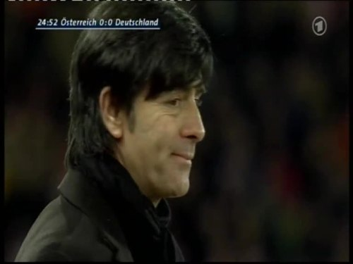 Joachim Löw – Austria v Germany 7