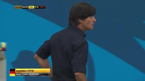 Joachim Löw – Brazil v Germany – 1st half 3
