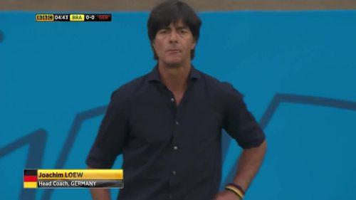 Joachim Löw – Brazil v Germany – 1st half 4