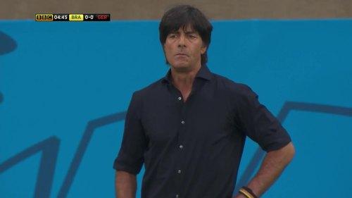 Joachim Löw – Brazil v Germany – 1st half 5