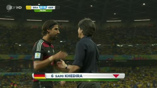Joachim Löw – Brazil v Germany – 2nd half 10
