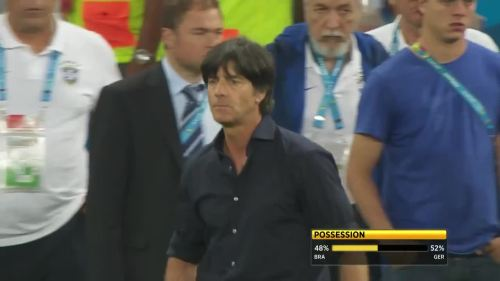 Joachim Löw – Brazil v Germany – 2nd half 11