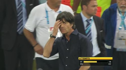 Joachim Löw – Brazil v Germany – 2nd half 12