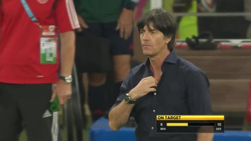 Joachim Löw – Brazil v Germany – 2nd half 14