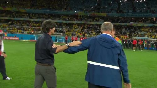 Joachim Löw – Brazil v Germany – 2nd half 15