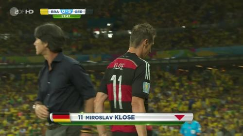 Joachim Löw – Brazil v Germany – 2nd half 3