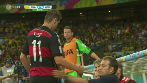 Joachim Löw – Brazil v Germany – 2nd half 5