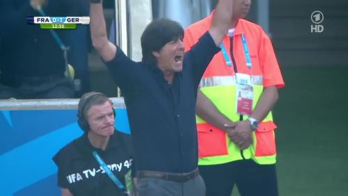 Joachim Löw – France v Germany 1