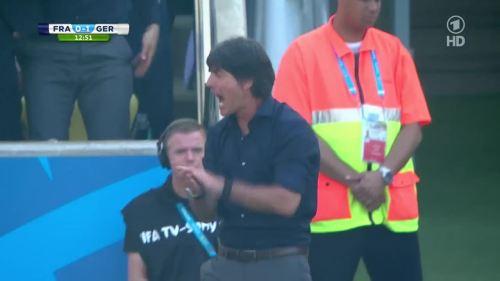 Joachim Löw – France v Germany 2