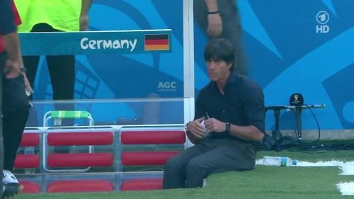 Joachim Löw – France v Germany 4