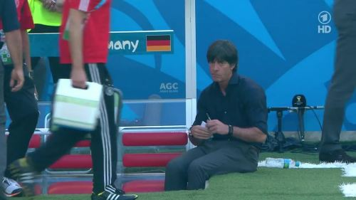 Joachim Löw – France v Germany 5