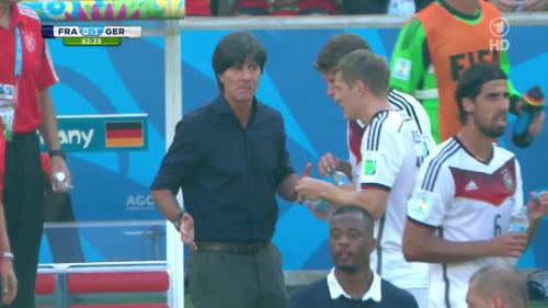 Joachim Löw – France v Germany 7