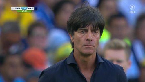 Joachim Löw – Germany v Argentina – 1st half 3