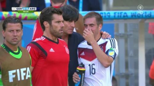 Joachim Löw – Germany v Argentina – 1st half 5