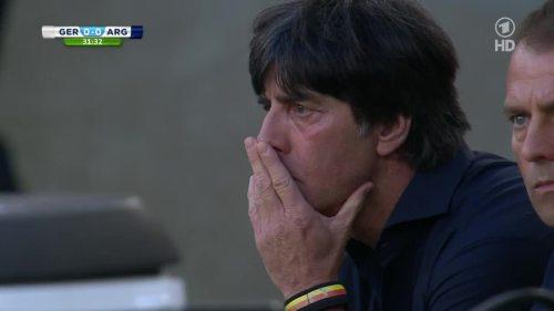 Joachim Löw – Germany v Argentina – 1st half 6
