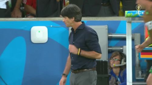 Joachim Löw – Germany v Argentina – 2nd half 6