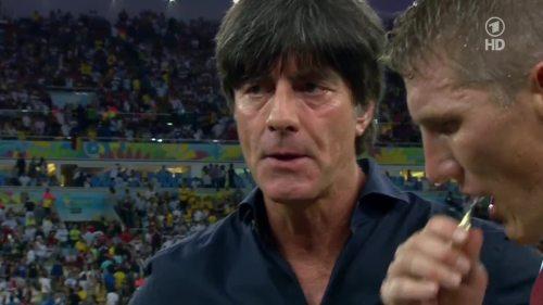Joachim Löw – Germany v Argentina – extra time 1