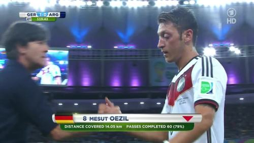 Joachim Löw – Germany v Argentina – extra time 14