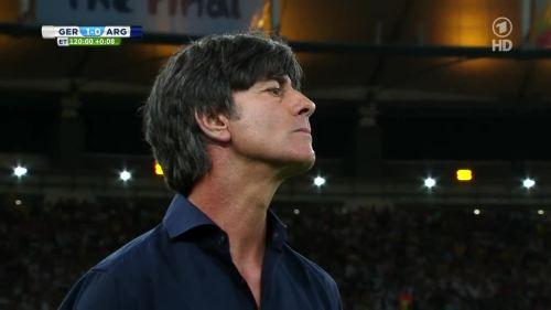 Joachim Löw – Germany v Argentina – extra time 17