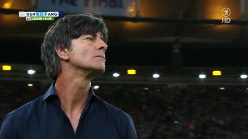 Joachim Löw – Germany v Argentina – extra time 19