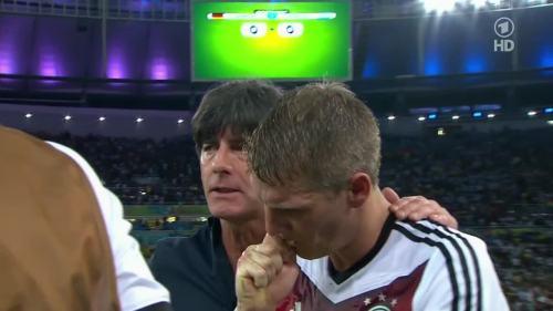 Joachim Löw – Germany v Argentina – extra time 2