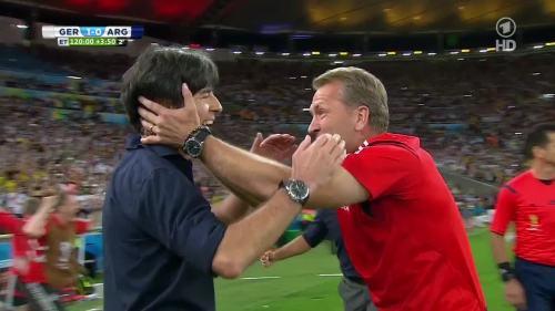 Joachim Löw – Germany v Argentina – extra time 21