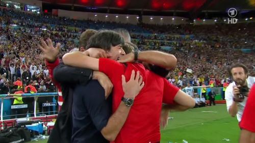Joachim Löw – Germany v Argentina – extra time 22