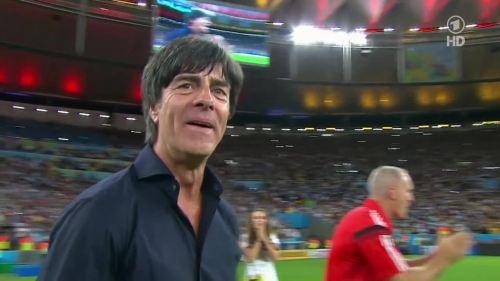 Joachim Löw – Germany v Argentina – extra time 23