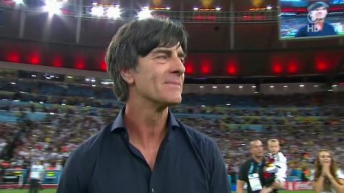 Joachim Löw – Germany v Argentina – extra time 24