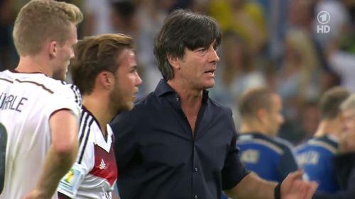 Joachim Löw – Germany v Argentina – extra time 5