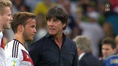 Joachim Löw – Germany v Argentina – extra time 6